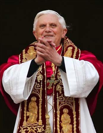 Becoming Catholic Pope Benedict XVI